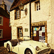 Vintage Touch. Culross Sketches. Scotland Poster