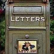Vintage Us Mailbox II Poster