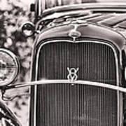 Vintage V8 Poster