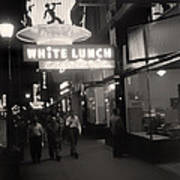 Vintage Vancouver 1950 Poster