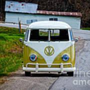 Vintage Volkswagen Bus Poster