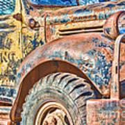 Vintage Welding Truck Poster