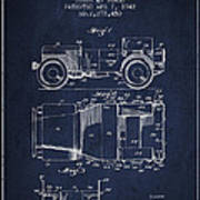 Vintage Willys Jeep Patent From 1942 Poster