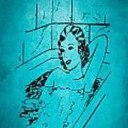 Vintage Women Color Art 89 Poster