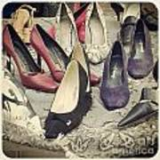Vintage Women Shoes Poster