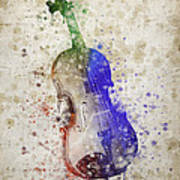Violin Poster by Aged Pixel