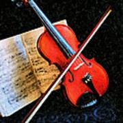 Violin Impression Redux Poster
