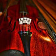 Violin Study Poster