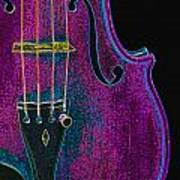 Violin Viola Body Photograph In Digital Color 3265.03 Poster