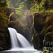Virgin Creek Falls Poster by Chris Heitstuman