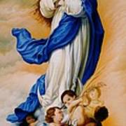 Virgin Of The Immaculate Conception After Murillo Poster