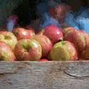 Virginia Apples Poster