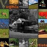 Virginia Artist  Poster