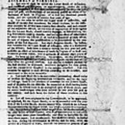 Virginia: Constitution Poster