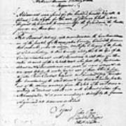 Virginia Council, 1778 Poster