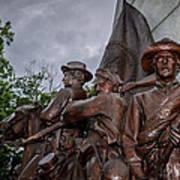 Virginia Memorial At Gettysburg Poster