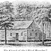 Virginia Rural Church Poster
