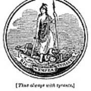Virginia State Seal Poster