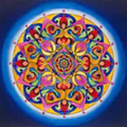 Vision - Brow Chakra Mandala Poster