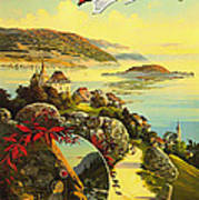 Visit Switzerland 1895 Poster by Mountain Dreams