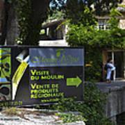 Visite Du Moulin Poster