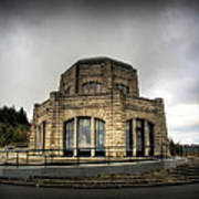 Vista House At Crown Point - Oregon Poster
