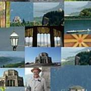 Vista House Collage Poster