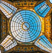 Vittorio Emanuele Gallery - Milan Poster