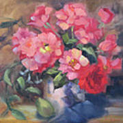 Vivacious Roses Poster