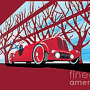 Vntage Racer Poster