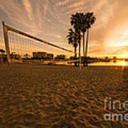 Volley Sunrise  Poster
