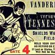 Volunteer State Rivalry Poster