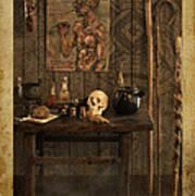 Voodoo Shack Poster by Bill Jonas