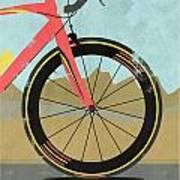 Vuelta A Espana Bike Poster