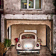 Vw Beetle Painting Poster