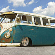 Vw Lowrider Bus Poster