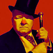 W C Fields 20130217p50 Poster by Wingsdomain Art and Photography