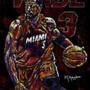 Wade Poster by Maria Arango