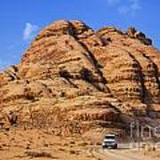 Wadi Rum In Jordan Poster by Robert Preston