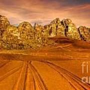 Wadi Rum Jordan Poster