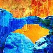 Wadi Rum Natural Arch 2 Poster
