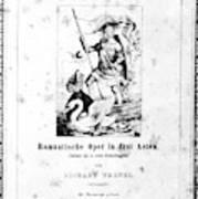 Wagner Lohengrin, 1850 Poster