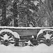 Wagon Wheels June Lake Poster