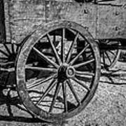 Wagon Wheels Rolling Poster