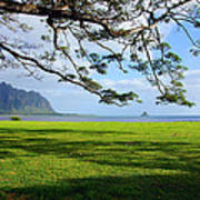 Waiahole Oahu Hawaii Poster