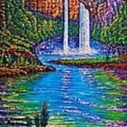 Wailua Falls II Poster