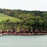 Wales Coastline Panorama Poster