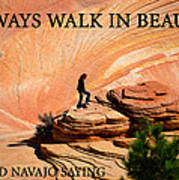 Walk In Beauty Poster