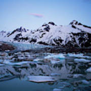 Walker Glacier, Alaska Poster