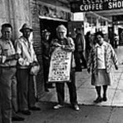 Walking Billboard Nevada Club Reno Nevada 1977 Poster